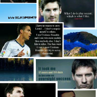 Messi Vs Ronaldo; My choice!