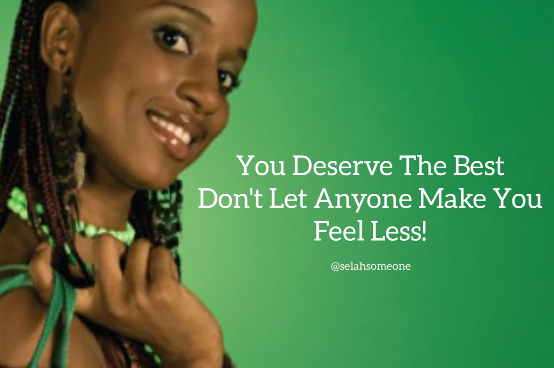 You Deserve TheBest