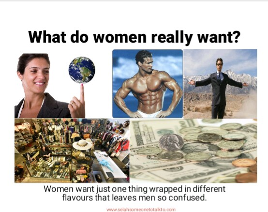 The Only Thing Women Want