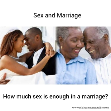 why sex is important in a marriage