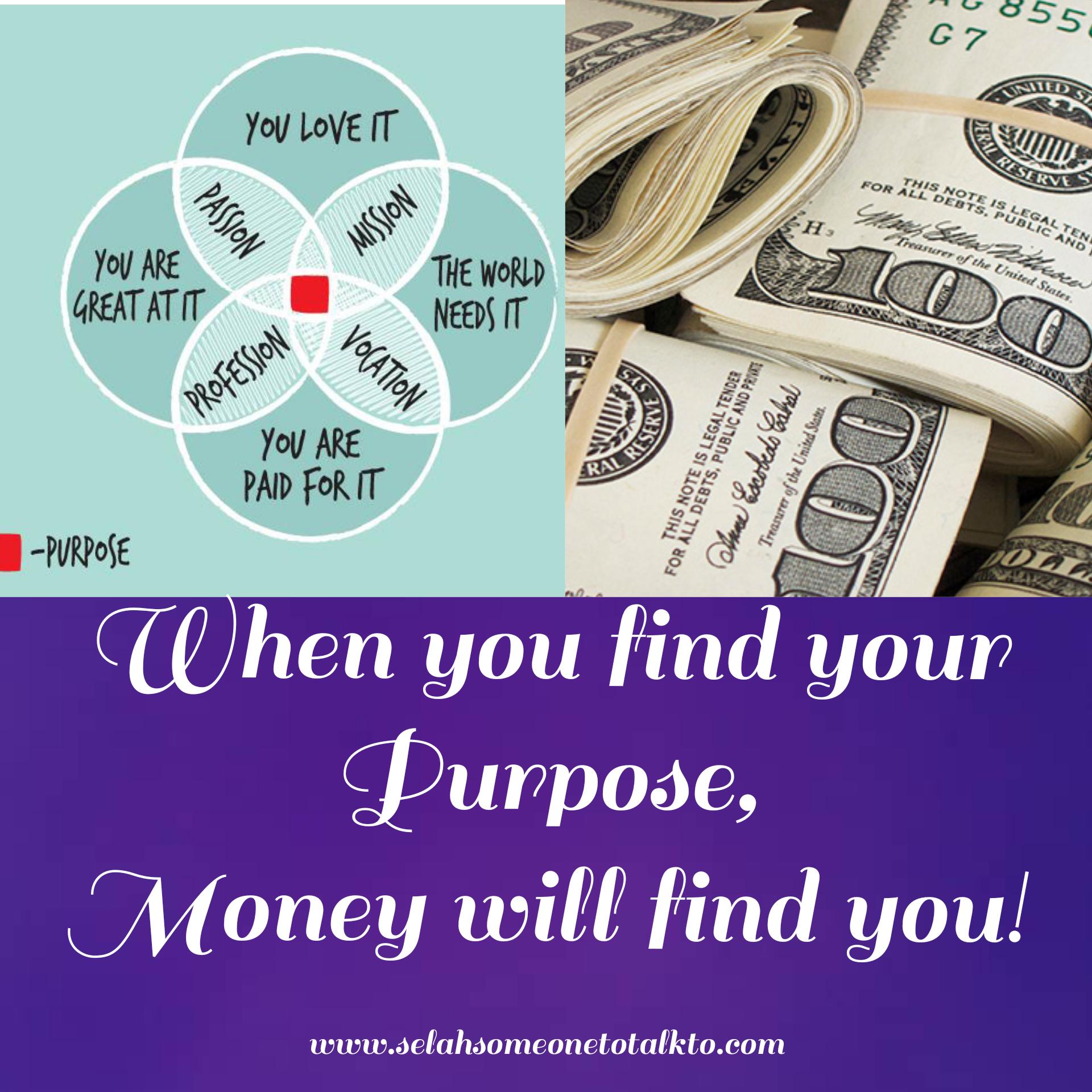 Purpose Versus Money