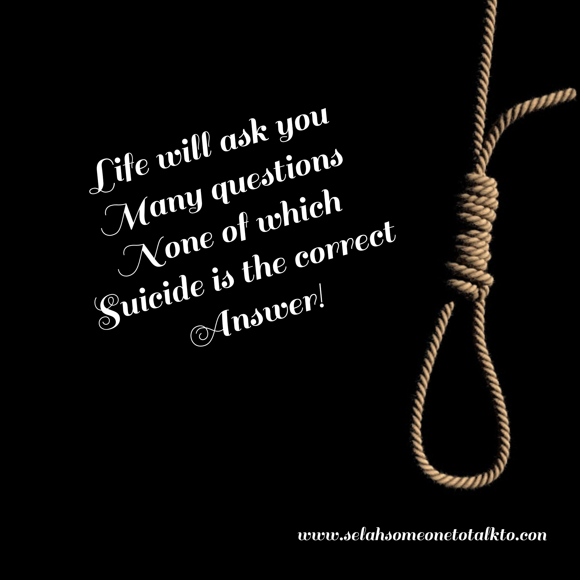 No To Suicide