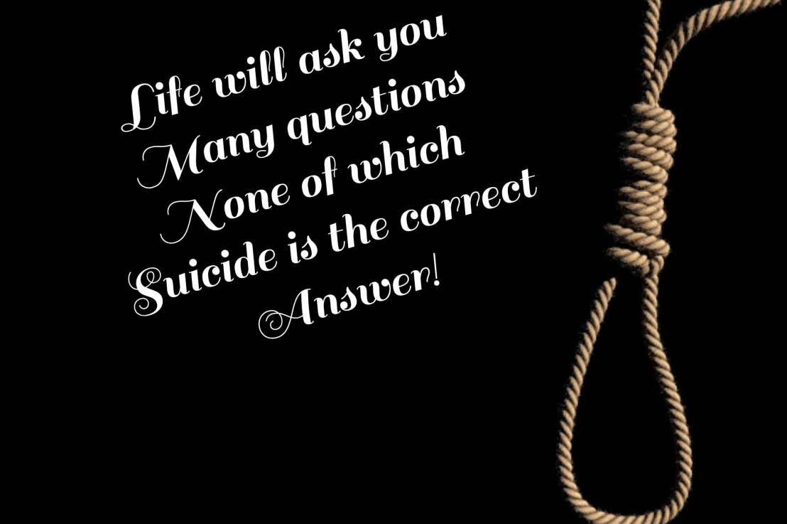 No To Suicide