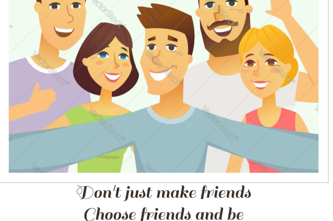 Don't Just MakeFriends